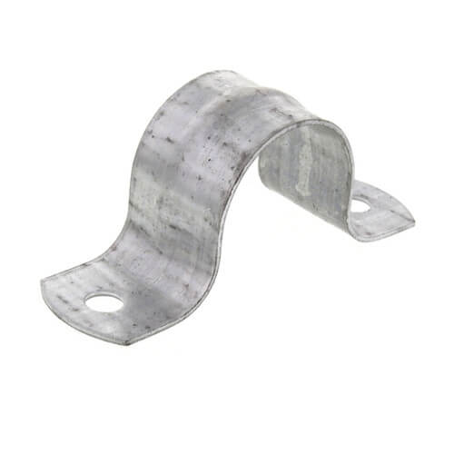 1inch GALV 2 HOLE PIPE STRAP 231G0100