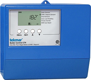 274 TEKMAR CONTROL ONE TO FOUR STAGE BOILERS UP TO