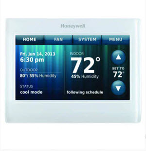 TH9320WF5003 HONEYWELL WI-FI 9000 COLOR TOUCHSCREE