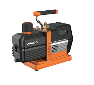 NP2DLM NAVAC 2 CFM CORDLESS VACUUM PUMP INCLUDES VACUUM PUMP OIL 18V 9AH BATTER WITH CHARGER AND CARRYING CASE