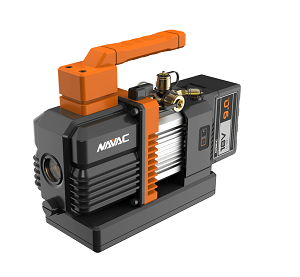NP4DLM NAVAC 4 CFM CORDLESS VACUUM PUMP INCLUDES VACUUM PUMP OIL 18V 9AH BATTERY WITH CHARGER AND CARRYING CASE