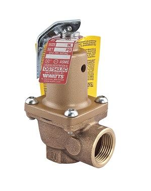 1-1/2inch WATTS 174A 40# RELIEF VALVE 0276502