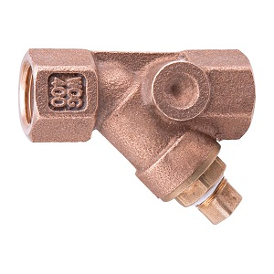 *1inch 777SI WATTS THREADED BRONZE WYE STRAINER (W