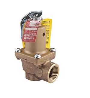 2inch 174A WATTS 125# RELIEF VALVE 0278480