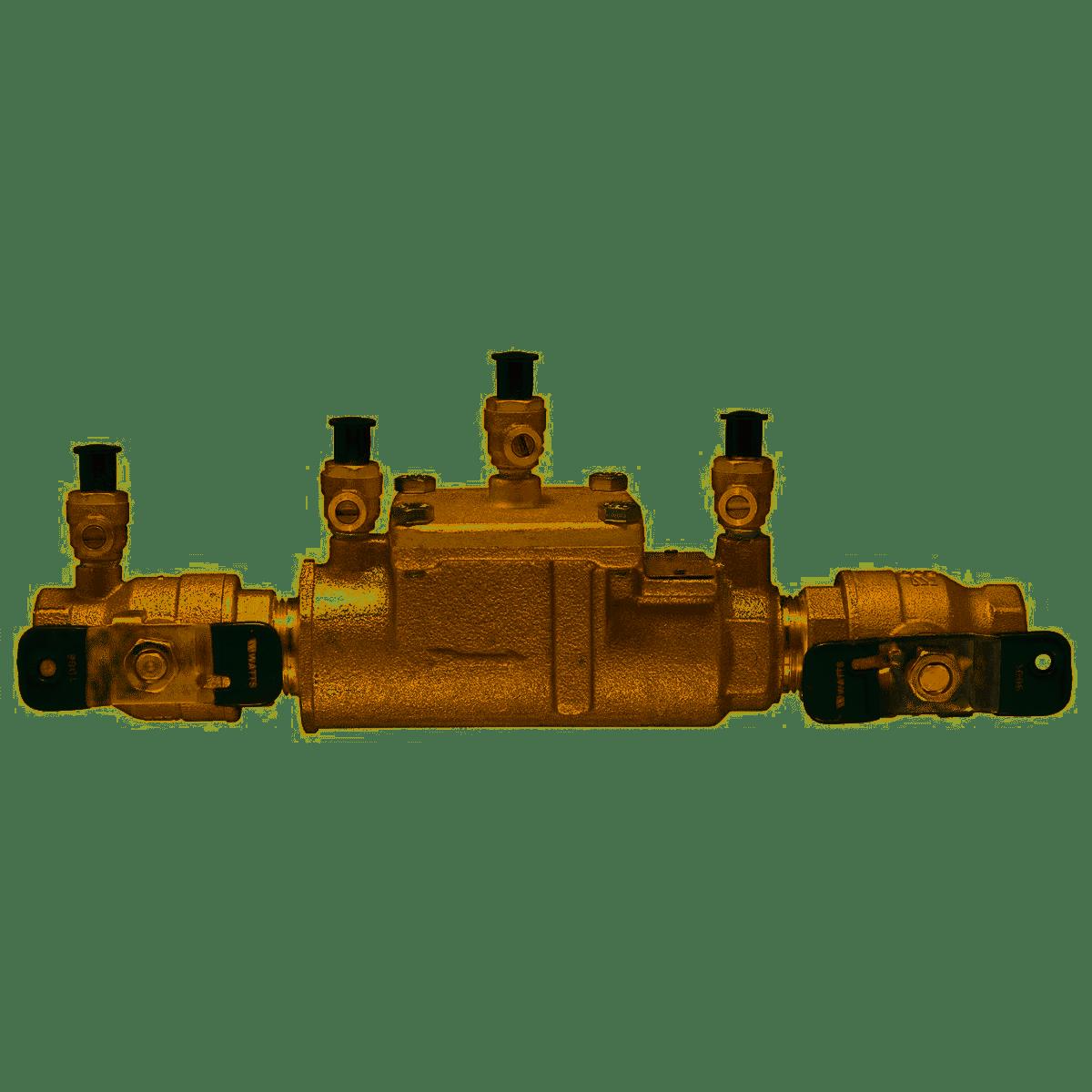 0063235 WATTS 2inch LF007M1-QT DOUBLE CHECK VALVE