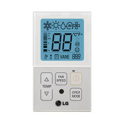 *PQRCVCL0QW LG WIRED WHITE THERMOSTAT FOR DUCTLESS