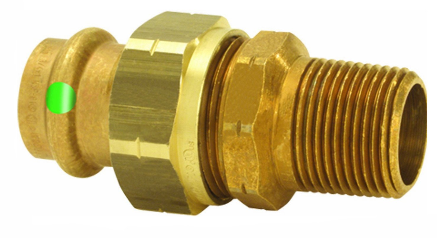 *77787 PROPRESS UNION CXM 3/4x3/4 MALE THREAD