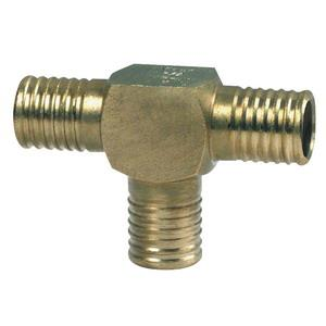 *64056 1X3/4INCH VIEGA PEX TEE BRONZE PEX PRESS (!
