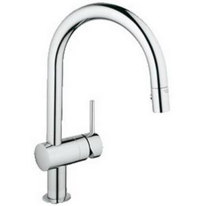 31 378 000 GROHE MINTA PULL DOWN FAUCET POLISHED C
