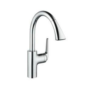 10.061.004.000 KWC DOMO PULL DOWN KITCHEN FAUCET C