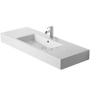 Duravit 03291200601 Vero Vitreous China Single Hole Above Counter Furniture Washbasin, White