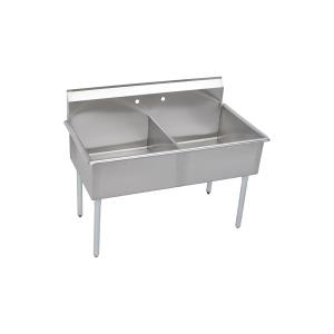 B2C18X21X ELKAY UTILITY SINK DOUBLE COMPARTMENT W/