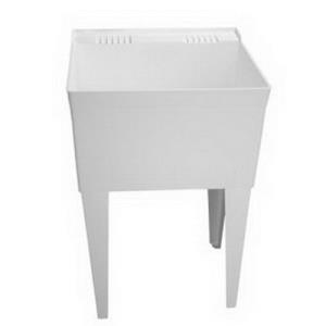 "FL1100 FIAT FLOOR MOUNT LAUNDRY TUB WITH LEGS 23""x"