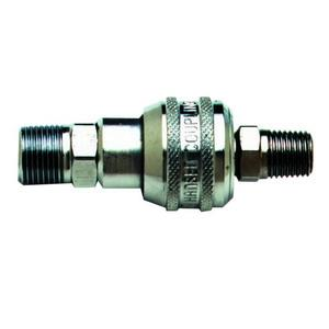 B-0452 T&S BRASS SS QUICK DISCONNECT 3/8inch NPT M