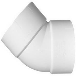 1-1/2inch 321 PVC DWV 45 ELBOW 1/8 BEND