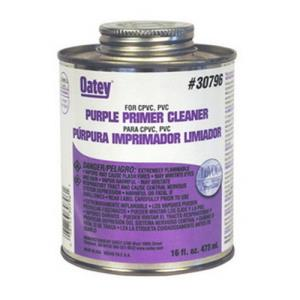 30796 OATEY PRIMER CLEANER - PURPLE 16OZ 1 PINT
