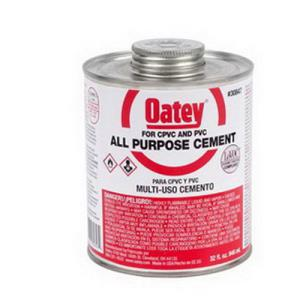 30847 OATEY ALL PURPOSE CEMENT MILKY CLEAR 32OZ 1