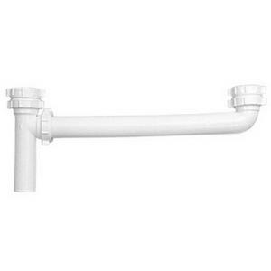 P9121A DEARBORN 1-1/2x16inch PVC WHITE END OUTLET