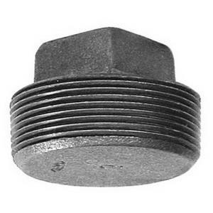 1/2inch BLACK SOLID MERCHANT STEEL PLUG