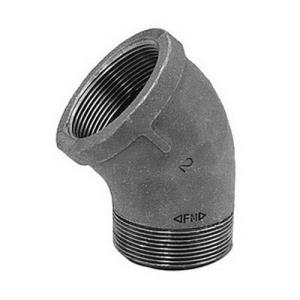 1-1/2inch BLACK MI 45 STREET ELBOW DOMESTIC