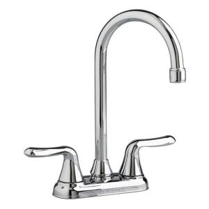 American Standard 2475.500 Colony? Soft Cast Brass 2-Lever Swing Bar Sink Faucet, Polished Chrome