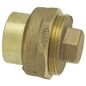 1-1/2inch 816 COPPER DWV STREET CLEANOUT WITH PLUG