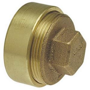 1-1/2inch 816-S COPPER DWV FLUSH CLEANOUT WITH PLU