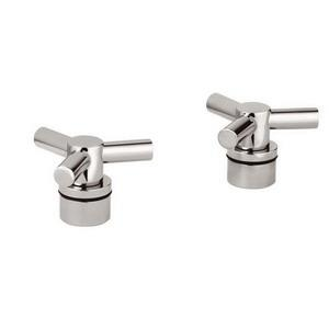 *18 026 BE0 GROHE ATRIO TRIO HANDLES - PAIR FOR LA