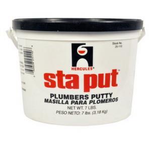 25110 HERCULES 7lb STA-PUT PLUMBERS PUTTY