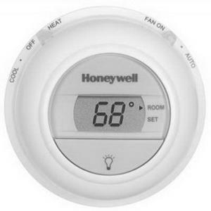 T8775C1005 HONEYWELL ROUND DIGITAL HEATING & COOLI