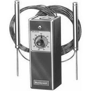 Honeywell T475A1057 SPST Remote Bulb Reset Controller, 70 To 140 deg F