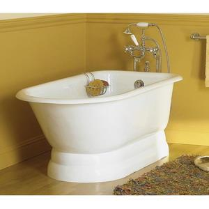 #812 WHITE SUNRISE SPECIALTY FREESTANDING TUB 68in