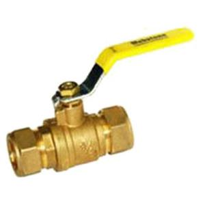 *1inch COMPRESSION BALL VALVE WITH WASTE RAVEN BVC