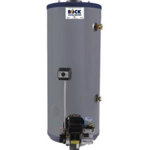 50ES BOCK 50GAL LOWBOY OIL FIRED WATER HEATER COMP