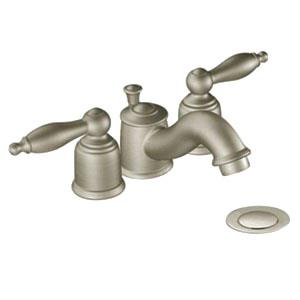 *T4955BN MOEN CASTLEBY BRUSHED NICKEL 2-HANDLE MIN