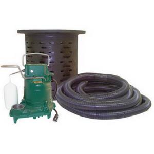 108-0001 ZOELLER CRAWL SPACE SUMP SYSTEM M53PUMP W