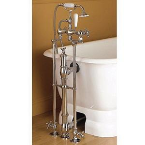 #433-C SUNRISE CHROME TUB FILL WITH HAND SHOWER