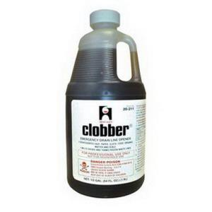 20205 HERCULES 1quart CLOBBER WASTE LINE CLEANER *