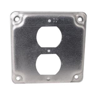620-409 DIVERSITECH DUPLEX OUTLET COVER FOR 4INCH