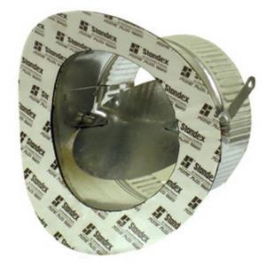 #97RPP 6inch STICK-ON COLLAR FOR PIPE / NO DAMPER