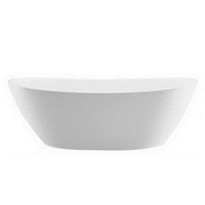 S115 MTI MATTE WHITE ELISE I ESS BATH TUB 72inch X