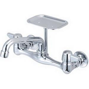 0048-UA CENTRAL BRASS WALL MOUNT FAUCET 6inch TUBE