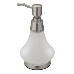 1486 GATCO SATIN NICKEL SOAP DISPENSER
