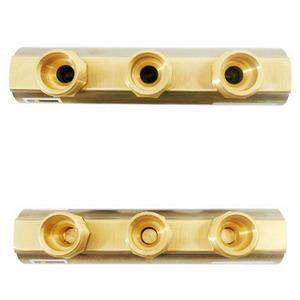 *15013 VIEGA BRASS 1inch MANIFOLD 3 OUTLETS (!1501