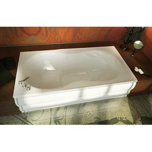 10007300001 MAAX MELODIE TUB ONLY WHITE (!10007300