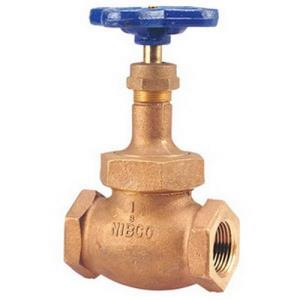 1/2inch NIBCO T235Y THREADED GLOBE VALVE 150# TFE