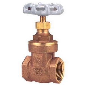 1-1/4inch NIBCO TI8 THREADED FP GATE VALVE 200# BR