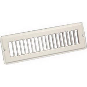TG32W1203 CONTINENTAL 12x2-1/4 TOE SPACE GRILLE WH