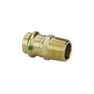 79245 1inch PROPRESS x MALE NPT ADAPTER ZERO LEAD