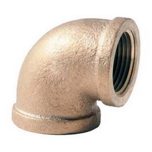 1-1/2inch CAST BRASS 90 ELBOW LEAD FREE